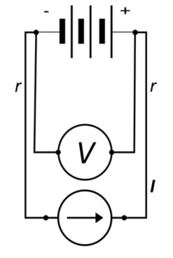 Battery Circuit with 4_point Kelvin Sensing