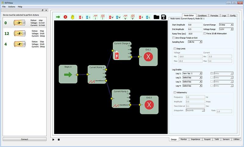 ESTiView Software GUI