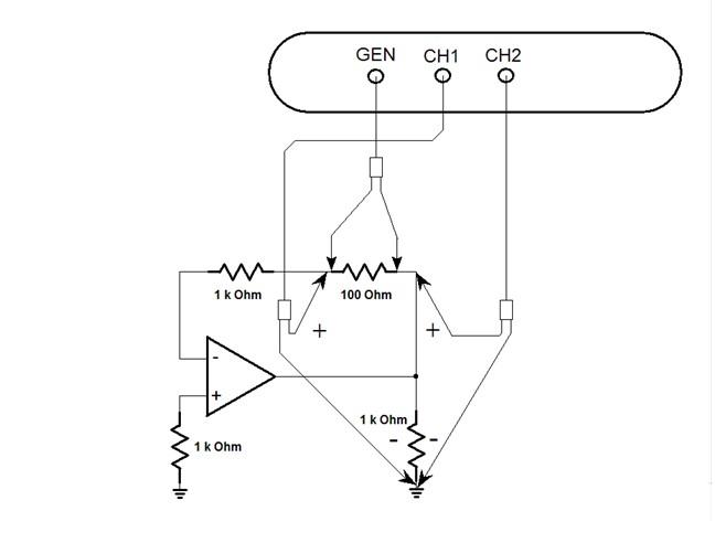 Op Amp Open Loop Gain Measurement_adjustment